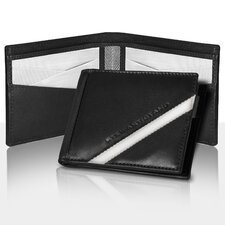 Leather Tech Bill Fold Wallet