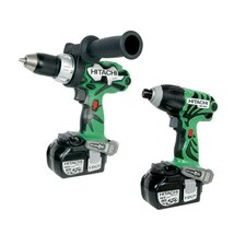 18V 3.0Ah Lithium Ion Driver Drill and Impact Driver Combo Kit