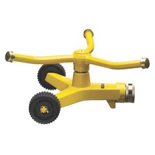 3-Arm Whirling Sprinkler in Yellow