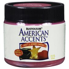 American Accents® Blossom Pink Craft and Hobby Enam Paint