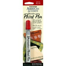 American Accents® Satin Ruby Decorative Paint Pen