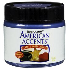 American Accents® Ocean Blue Craft and Hobby Brush Enamel Paint