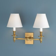 Weston 2 Light Wall Sconce