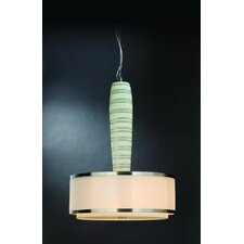 Prestige Lux 3 Light Drum Pendant