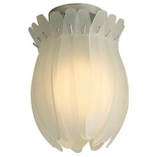Aphrodite I 1 Light Semi Flush Mount