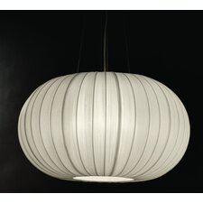 Shanghai 1 Light Oval Globe Pendant