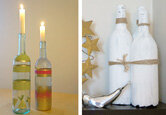 DIY: Wine Bottle Crafts