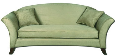 green sofa