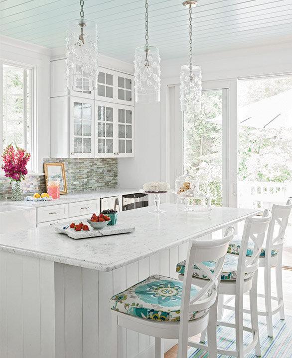 Colorful Kitchen Decor Pictures: Colorful Cottage Decor - House Tour