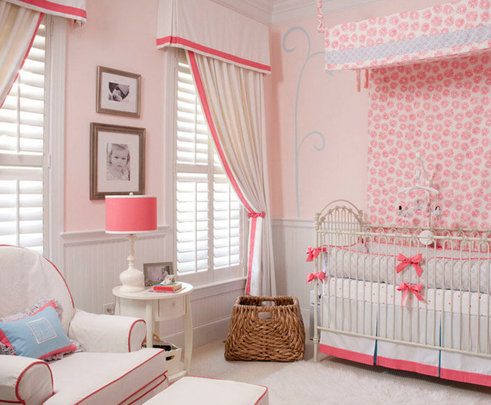 girl nursery decorating ideas inspired by wayfair