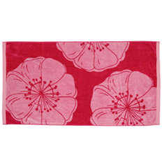 flower beach towel