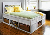 Build It or Buy It: Storage Bed