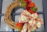 10 DIY Fall Wreath Ideas