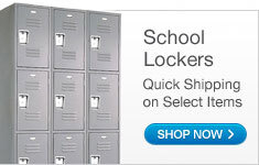 Quick Shipping Lockers